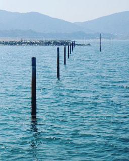 水の大きな体の写真・画像素材[1174319]