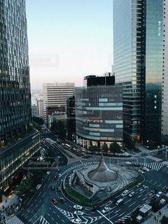 都市の高層ビルの写真・画像素材[1203310]