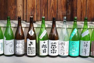 日本酒の瓶の写真・画像素材[1591838]