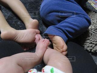 皆の足の写真・画像素材[2332019]