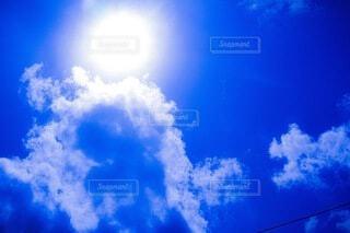 青空の雲の写真・画像素材[4161809]