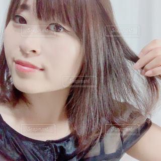 髪広告用の写真・画像素材[2565936]