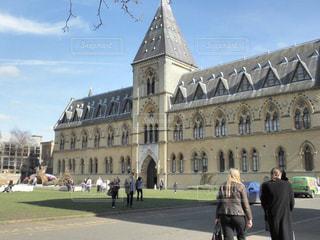 オックスフォード大学自然史博物館の前の写真・画像素材[2335641]