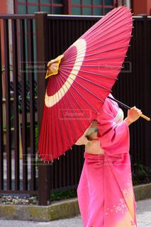 浅草の和服美人の写真・画像素材[2362671]
