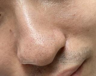 男性の鼻の写真・画像素材[3623424]