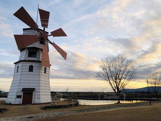 STAGEX高島の風車の写真・画像素材[2825612]