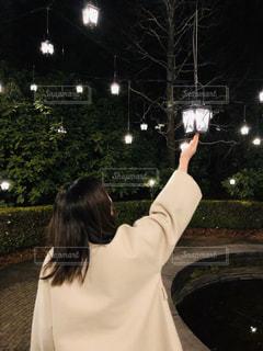 仙台ロイヤルパークホテル ガーデンイルミネーションの写真・画像素材[2966327]