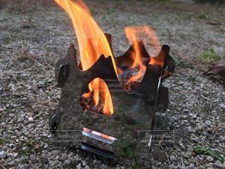 焚火の写真・画像素材[2341279]
