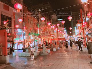 神戸 中華街の写真・画像素材[2341154]