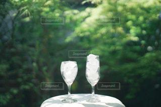 ワインを一杯飲むの写真・画像素材[3153599]