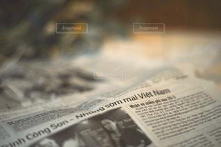 新聞のクローズアップの写真・画像素材[3201107]