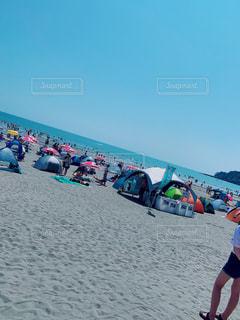浜辺の人々の写真・画像素材[2342465]