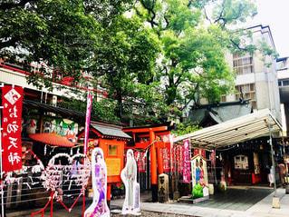 露天神社の写真・画像素材[2387615]