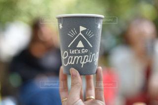 コーヒーカップのクローズアップの写真・画像素材[2345472]
