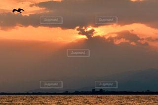 江ノ島の夕景の写真・画像素材[2351127]