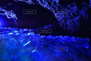 鳴沢氷穴の写真・画像素材[2425065]