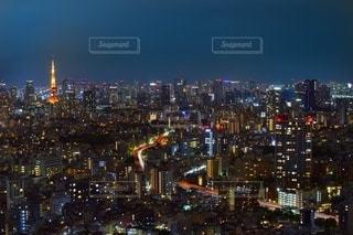 東京夜景の写真・画像素材[2561688]