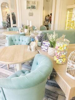 可愛いカフェの写真・画像素材[2345602]