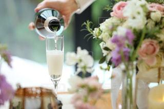 結婚式 ウェルカムドリンクの写真・画像素材[3085492]