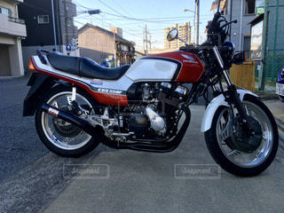 古いオートバイ CBXの写真・画像素材[2347632]