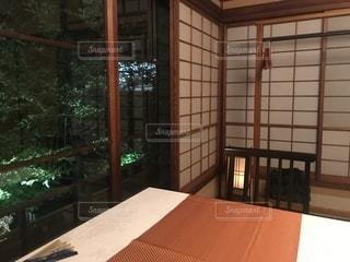高級料亭の個室の写真・画像素材[2368031]