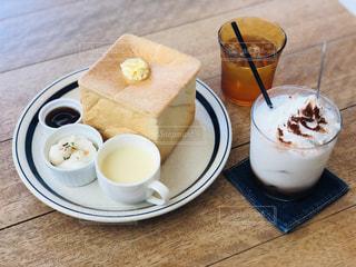 一宮市にある喫茶店のモーニング アイスココアの写真・画像素材[2348354]