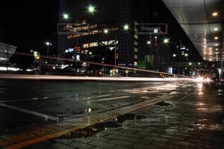 車のライトの写真・画像素材[2349029]