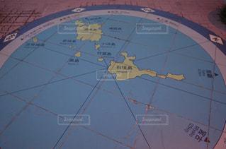 地図のクローズアップの写真・画像素材[2355238]