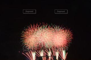 空の花火の写真・画像素材[2355422]