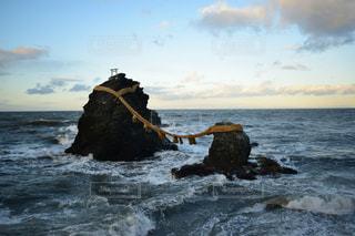 夫婦岩の写真・画像素材[2370714]