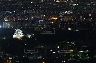 夜の街の眺めの写真・画像素材[2416921]