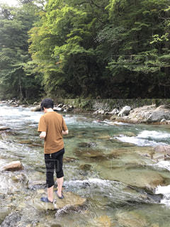 旅行先の山川の写真・画像素材[2347729]