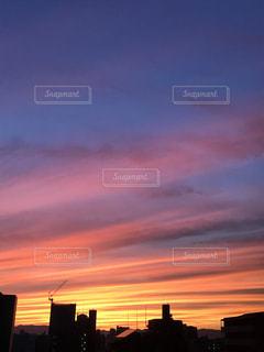 西の空の写真・画像素材[2347917]