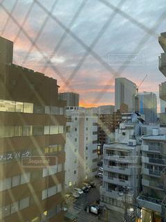夕焼け空の写真・画像素材[3363856]