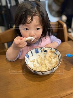 離乳食の写真・画像素材[3905941]