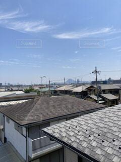 建物の屋根の写真・画像素材[4737362]