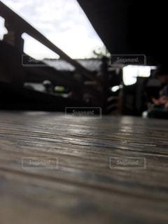 寺の廊下の眺めの写真・画像素材[2351746]