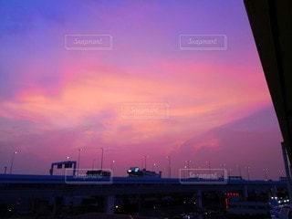 都市の夕日の写真・画像素材[2356280]