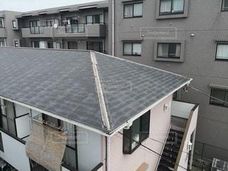 建物の屋根の写真・画像素材[2356287]