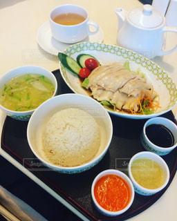 海南鶏飯 チキンライスの写真・画像素材[2356324]