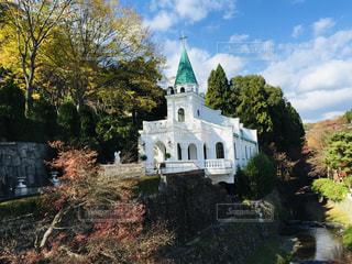 城のような教会の写真・画像素材[2358249]