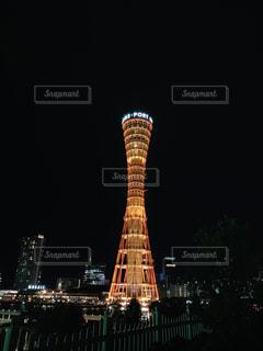 神戸ポートタワーの写真・画像素材[2358443]