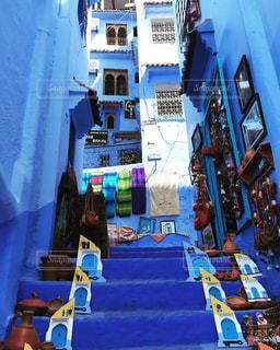 青い町の写真・画像素材[2359389]