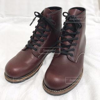 茶色ブーツの写真・画像素材[2479606]