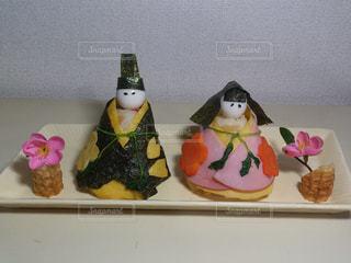 お雛様寿司の写真・画像素材[2364507]