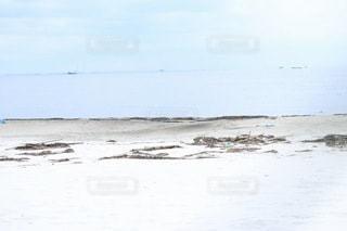 青空と白砂海岸の写真・画像素材[2396533]