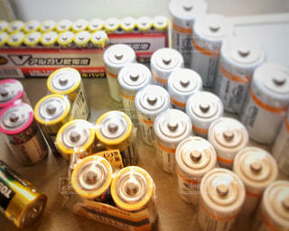 乾電池の写真・画像素材[2427385]
