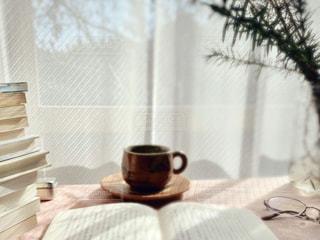 読書タイムの写真・画像素材[2898543]