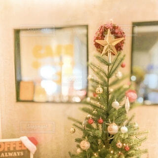 カクリスマスツリーの写真・画像素材[3890222]