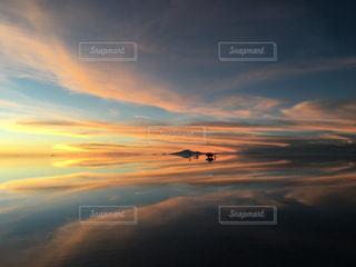 ウユニ塩湖の写真・画像素材[2367578]